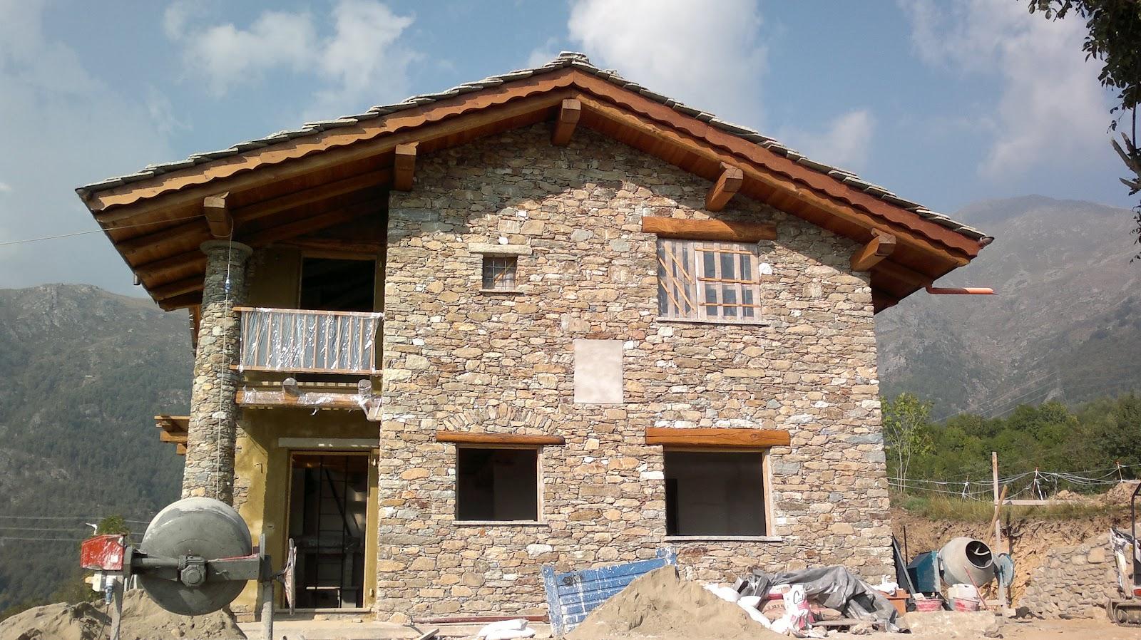 Ristrutturazione di una casa in montagna gio va ni for Piccoli piani di casa di montagna